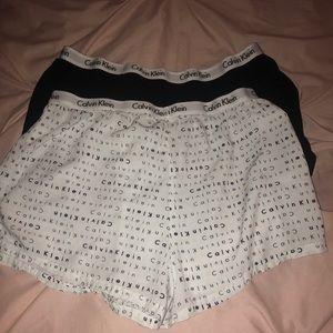 Set of 2 Calvin Klein boxer shorts